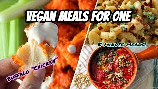 EASY VEGAN MEALS FOR ONE // WHAT I ATE IN A DAY #98, TOSHIBA MICROWAVE/CONVECTION REVIEW & UPDATES