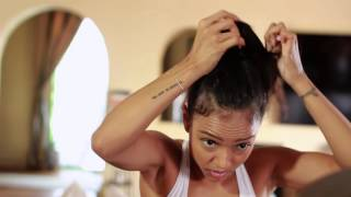 SPECIAL EDITION: The Karrueche Bun Tutorial