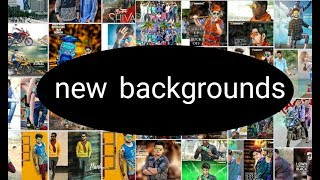 New Backgrounds Surprise Gift by Praful Editx