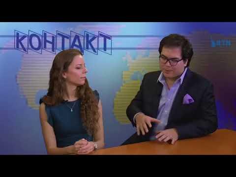 Maya Pritsker show on RTN: Aza Sydykov and Polina Nazaykinskaya