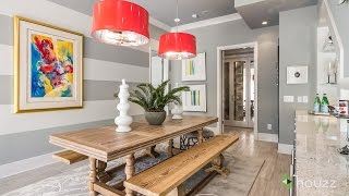 Painted stripes can quickly and economically add a lot of style to ...