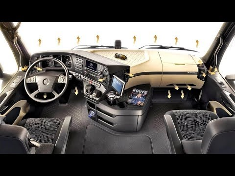 You can live in it. 10 most modern and comfortable trucks in the world