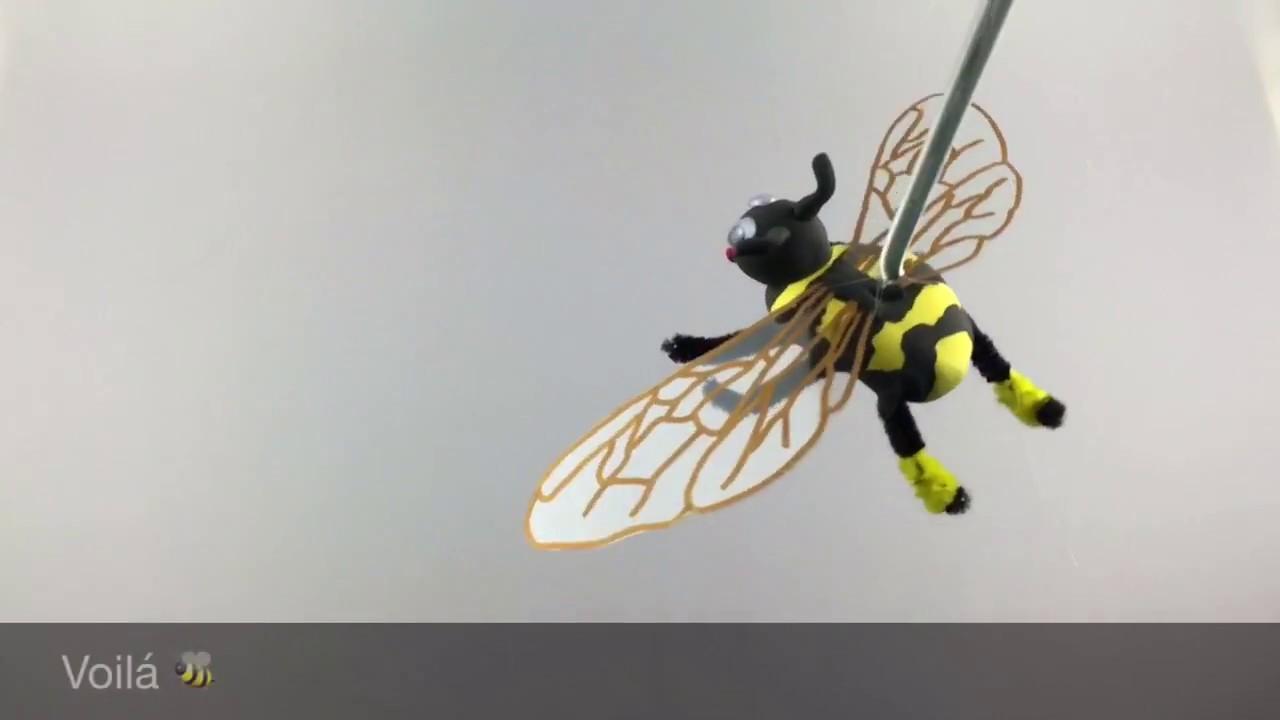 Biene Bastelidee Für Kinder