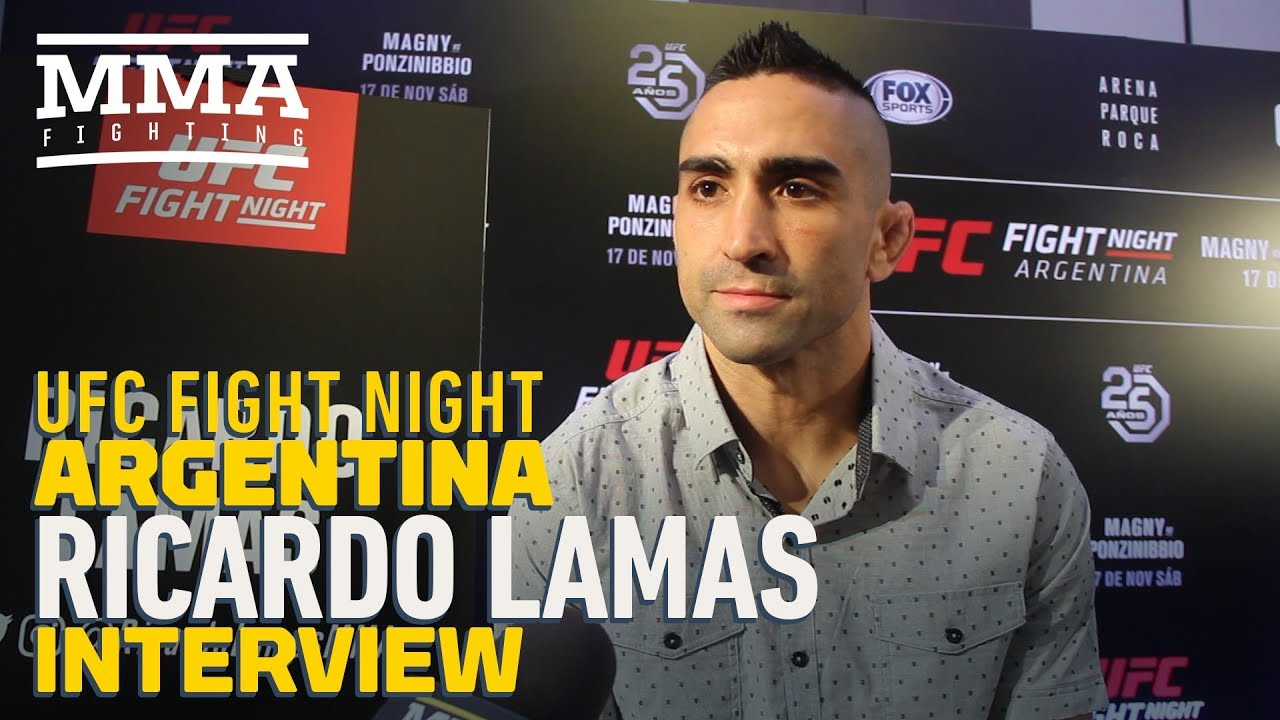 UFC Argentina: Ricardo Lamas Considers Darren Elkins Friend, But Fight Will Be 'Business As Usual'