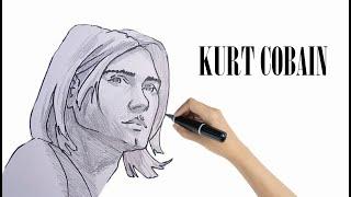 How to Draw Kurt Cobain