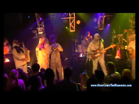 ATTACK of the WIENER MAN by HERE COME THE MUMMIES - HD from UNDEAD LIVE DVD
