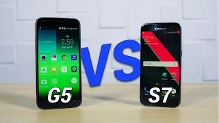 Galaxy S7 vs LG G5: Battle of the Best