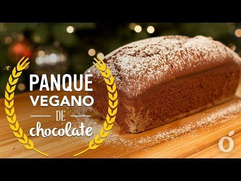 PANQUÉ VEGANO DE CHOCOLATE | CHOCOLATE VEGAN PANCAKE | Kiwilimón