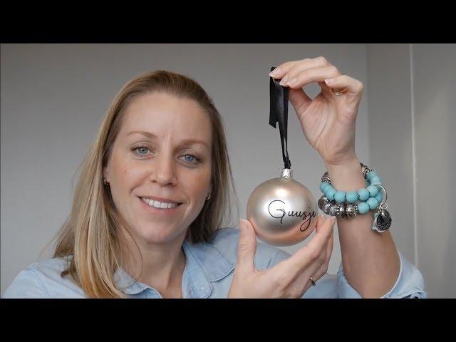DIY - zelf een kerstbal met naam maken | Naamelijk