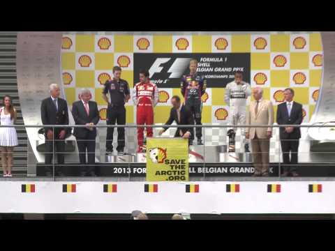 Shell's priceless Grand Prix moment