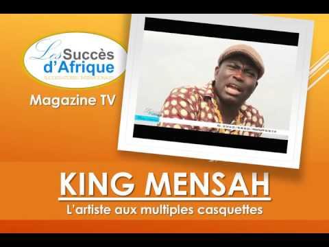 KING MENSAH,  L'artiste aux multiples casquettes.