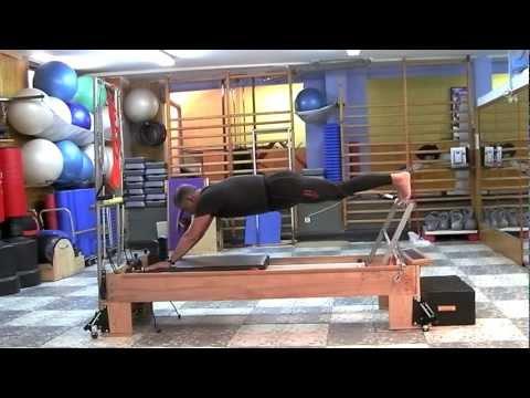 Pilates reformer avanzado 4