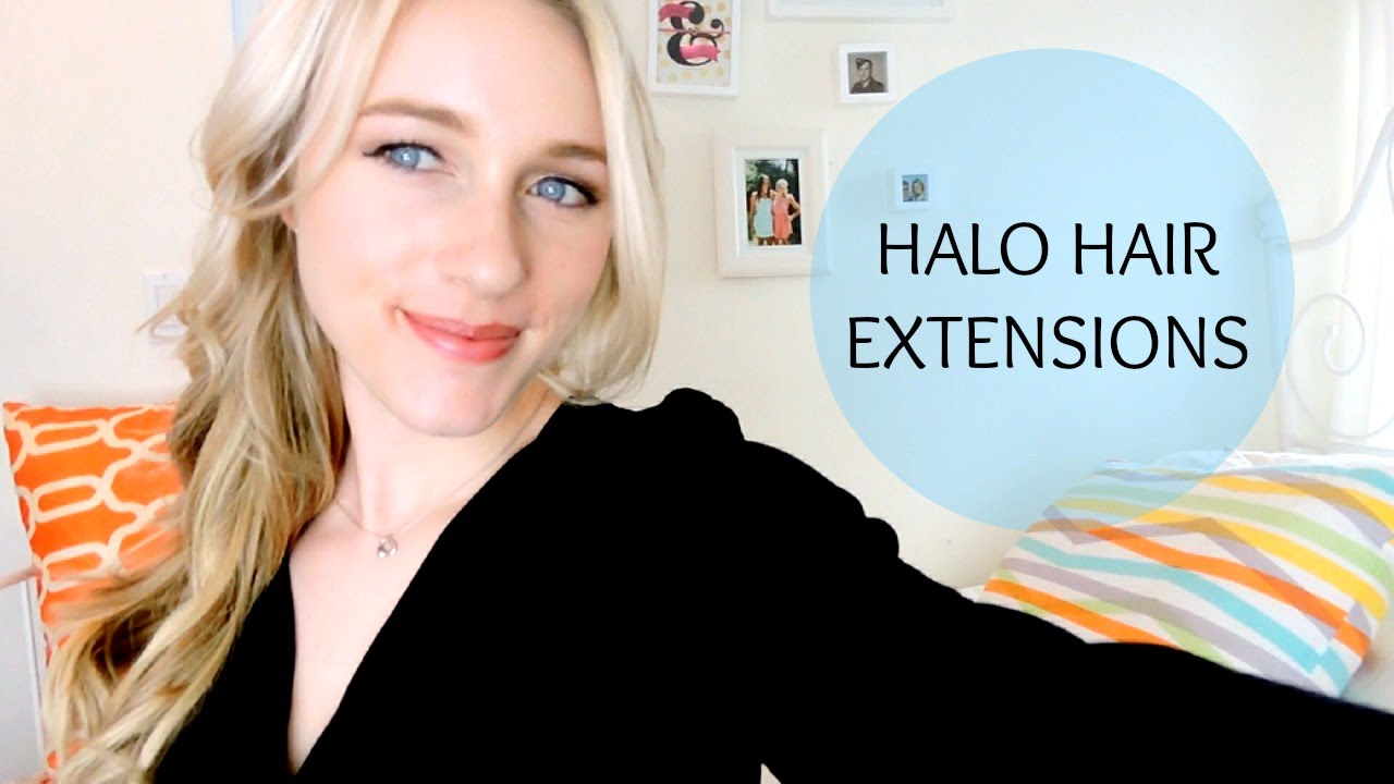 Using halo hair extensions youtube pmusecretfo Choice Image