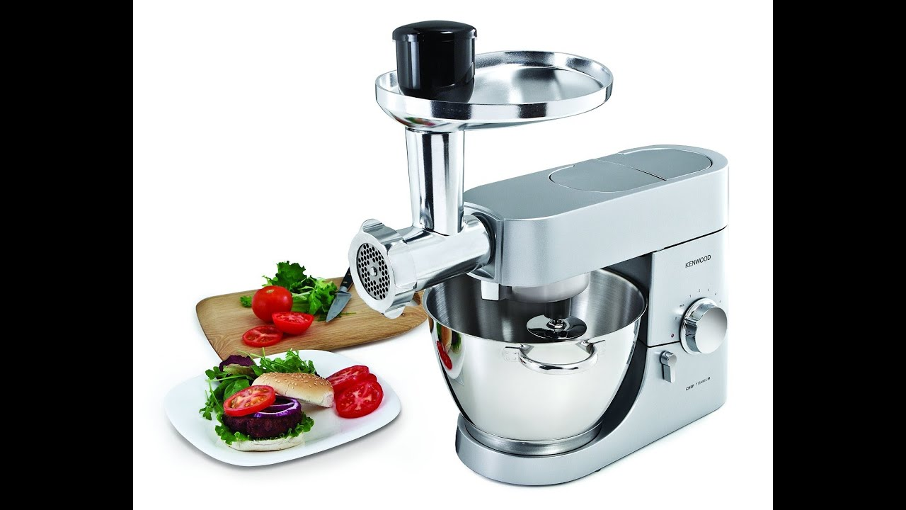 Review: Kenwood AT950A Multi Food Grinder, Silver - YouTube