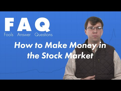 How to Make Money in the Stock Market -- Growth & Value Investing