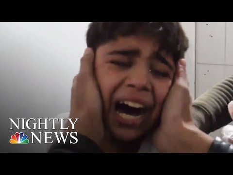 Hundreds Killed Near Damascus In Bombing Campaign By Syrian Government   NBC Nightly News