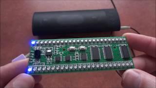 2x24 RGB LED Stereo VU Meter