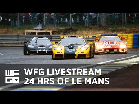 WFG Finals | 24 Hours of Le Mans LIVESTREAM