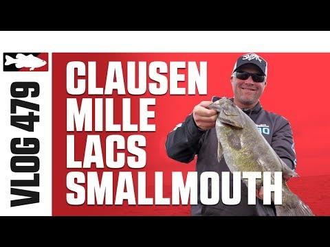 Luke Clausen Fishing Smallmouth On Mille Lacs - Tackle Warehouse VLOG #479