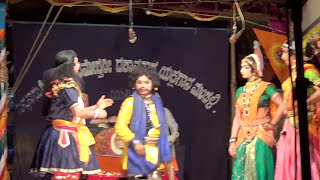 Yakshagana Tulu -- Banatha bangar - perla - Sundara bangady hasya - 3