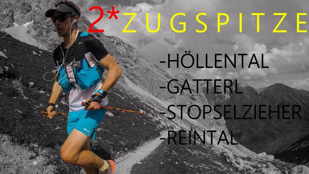 Klettersteig Zugspitze Schwierigkeitsgrad : Auf die zugspitze m an einem tag höllental gatterl