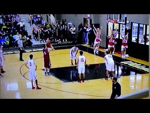 Tristan DeVon Vici High School Vici Oklahoma 2013-14 Highlight #1