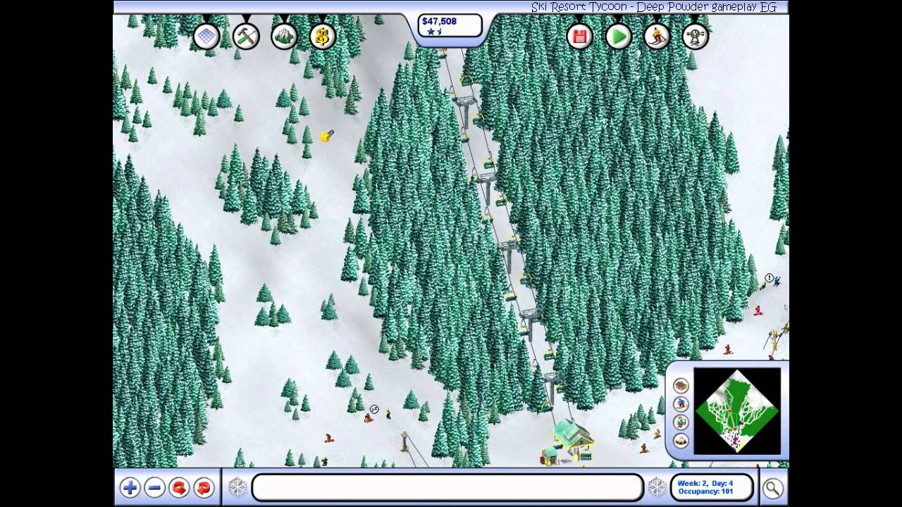 ski resort tycoon deep powder mac