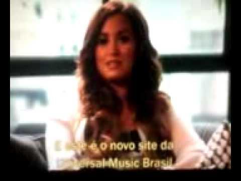 Demi Lovato na Universal  Brasil