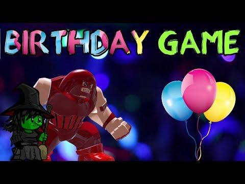 BIRTHDAY GAME w/Wahooz | Custom Coven | Juggernaut In Game
