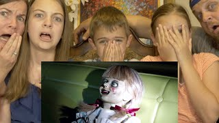 ANNABELLE COMES HOME TRAILER REACTION