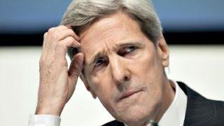 Ужас! Джон Керри  потерял дар речи