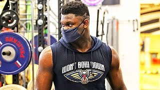 Zion Williamson CRAZY WEIGHT LOSS During NBA Season Suspension!
