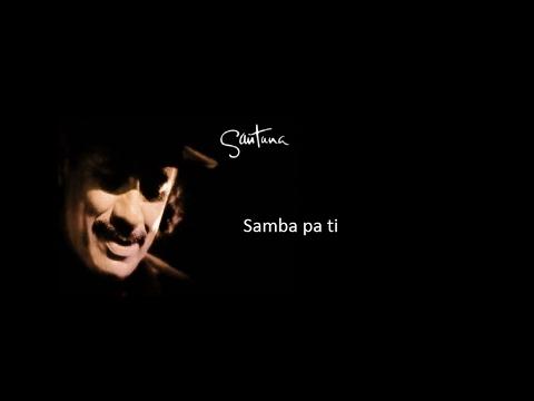 Santana - Samba pa ti  (Subtitulado)