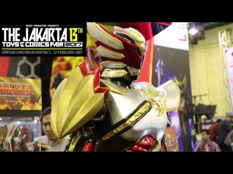 Jakarta Toys & Comics Fair 2017 w/Prots