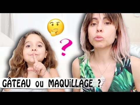 REAL FOOD ou COSMETICS  ? / Family vlog