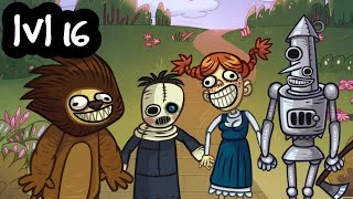 Troll Face Quest Horror 2 Level 16 Android iOS Walkthrough Halloween Special