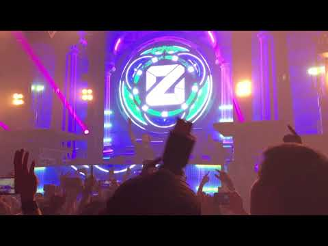 Zedd Club tour Bangkok at ONYX 5 April 2018 [Fan cam]