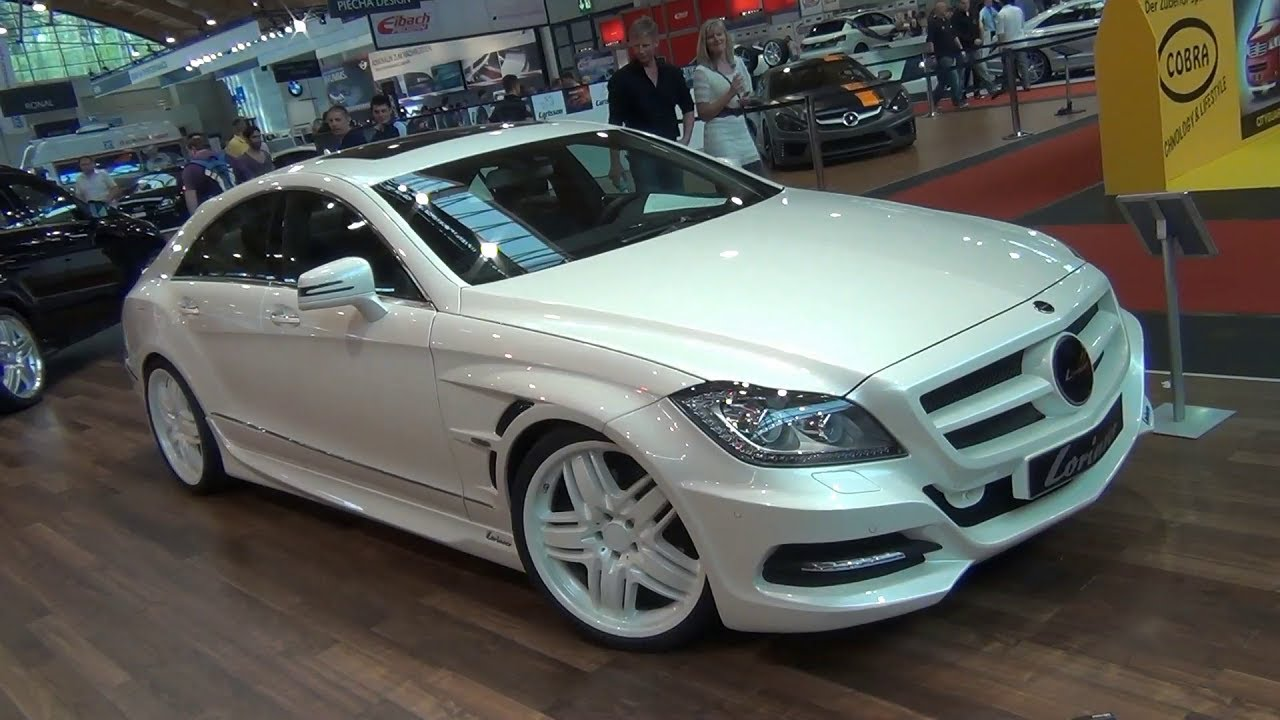 Hd Lorinser Cls 350 Cdi With Black White Wheels Youtube