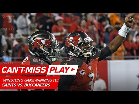 Jameis Winston Tosses Game-Winning TD Pass vs. New Orleans! | Can