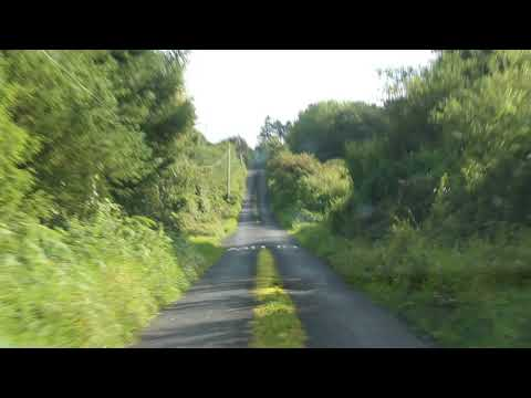 Got lost in Ireland on our way to the Shannon Ferry
