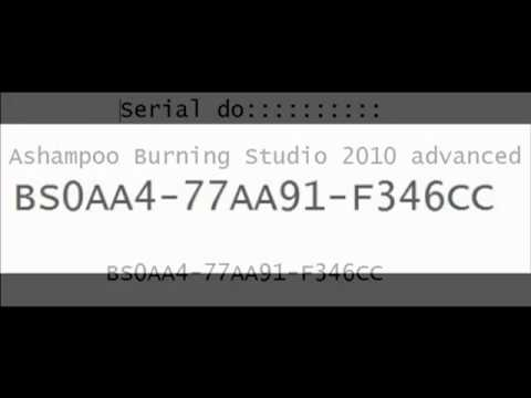 ashampoo burning studio 2010 serial portugues gratis