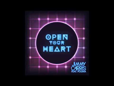Jimmy Carris feat Polina - Open Your Heart (Cover Art)
