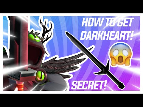Roblox Arsenal ''HOW TO GET DARKHEART MELEE!''