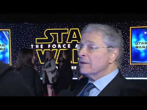 Star Wars: The Force Awakens: Lawrence Kasdan Exclusive Red Carpet Premiere Interview