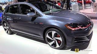 2018 Volkswagen Golf GTI SE - Exterior and Interior Walkaround - 2017 LA Auto Show