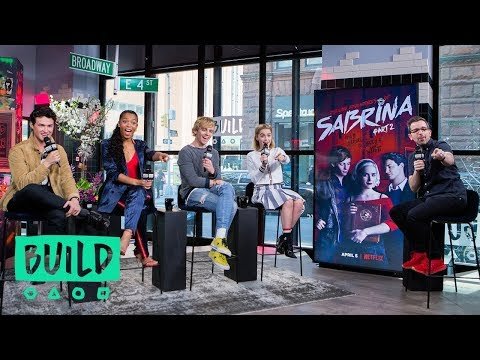 Kiernan Shipka, Ross Lynch, Gavin Leatherwood & Jaz Sinclair On Season 2 Of 'Chilling Adventures of