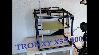 Aufbau Tronxy X5S 400 - Tipps und erster Testdruck [GER, ENG Sub]