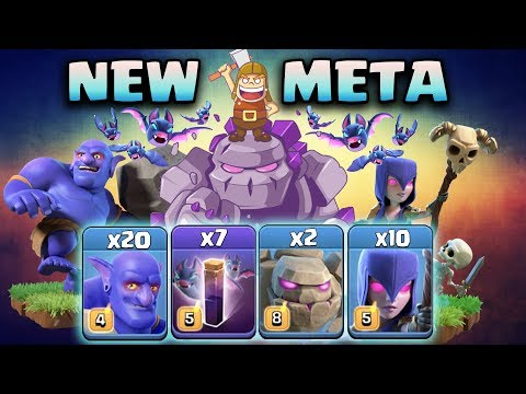 NEW META 2019!  TH12 SUPER STRONG WAR ATTACK STRATEGY 2019 | Clash Of Clans