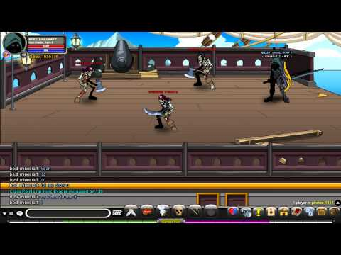 AQW How to get Horc Evader class and How to use it!