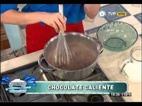 Chocolatada caliente